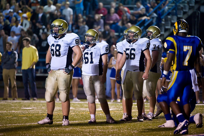 Parker #68 with Team OL