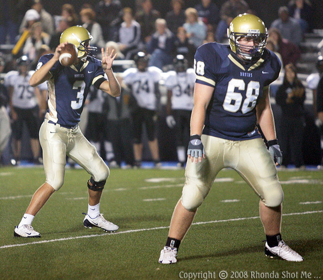 Parker Mack # 68... watching the QB's back